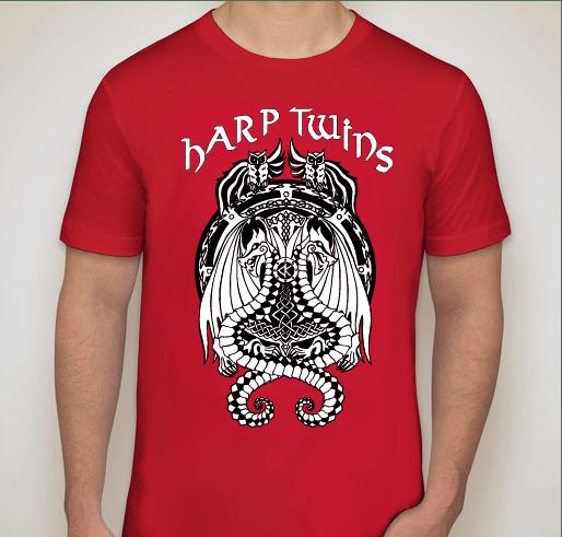 Image of Shader Crest t-shirt