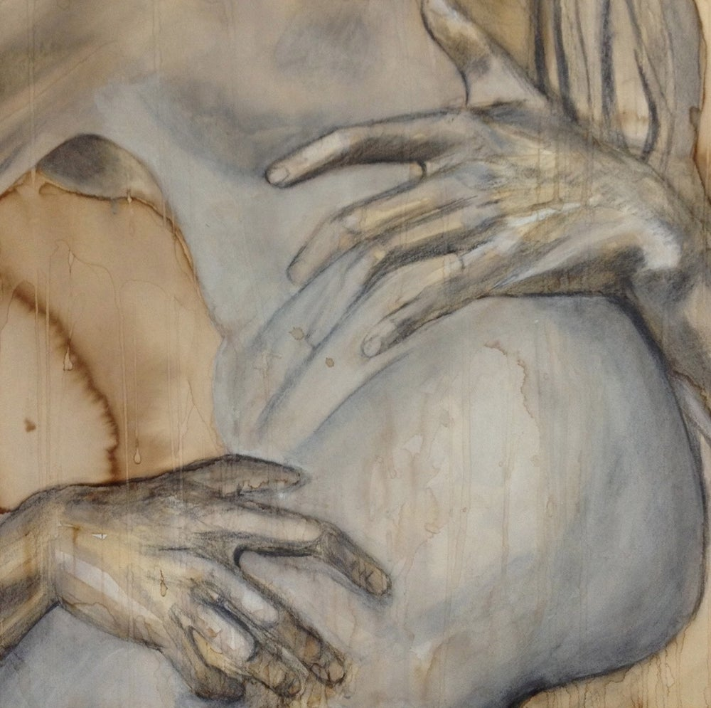 STUDY OF BERNINI'S THE RAPE OF PROSERPINA - HANDS