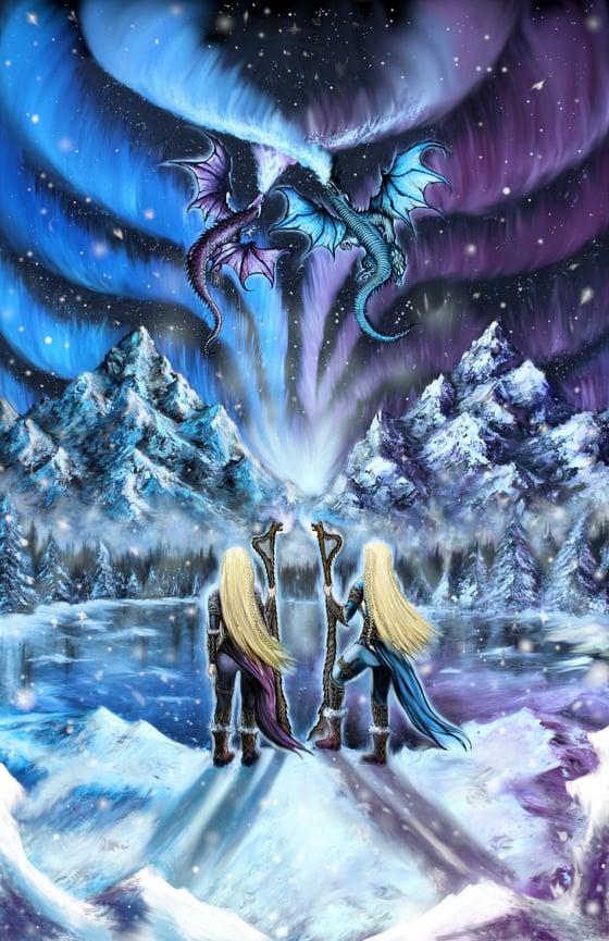 Image of Never Summer Lands ARTWORK poster