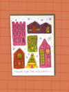 Home For The Holidays - Greeting Card