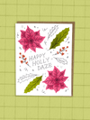 Happy Holly Daze - Greeting Card