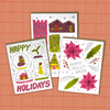 Holiday Card Bundle - 6 Cards!