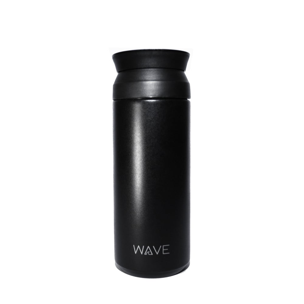 Image of Black 500ml Thermal Bottle