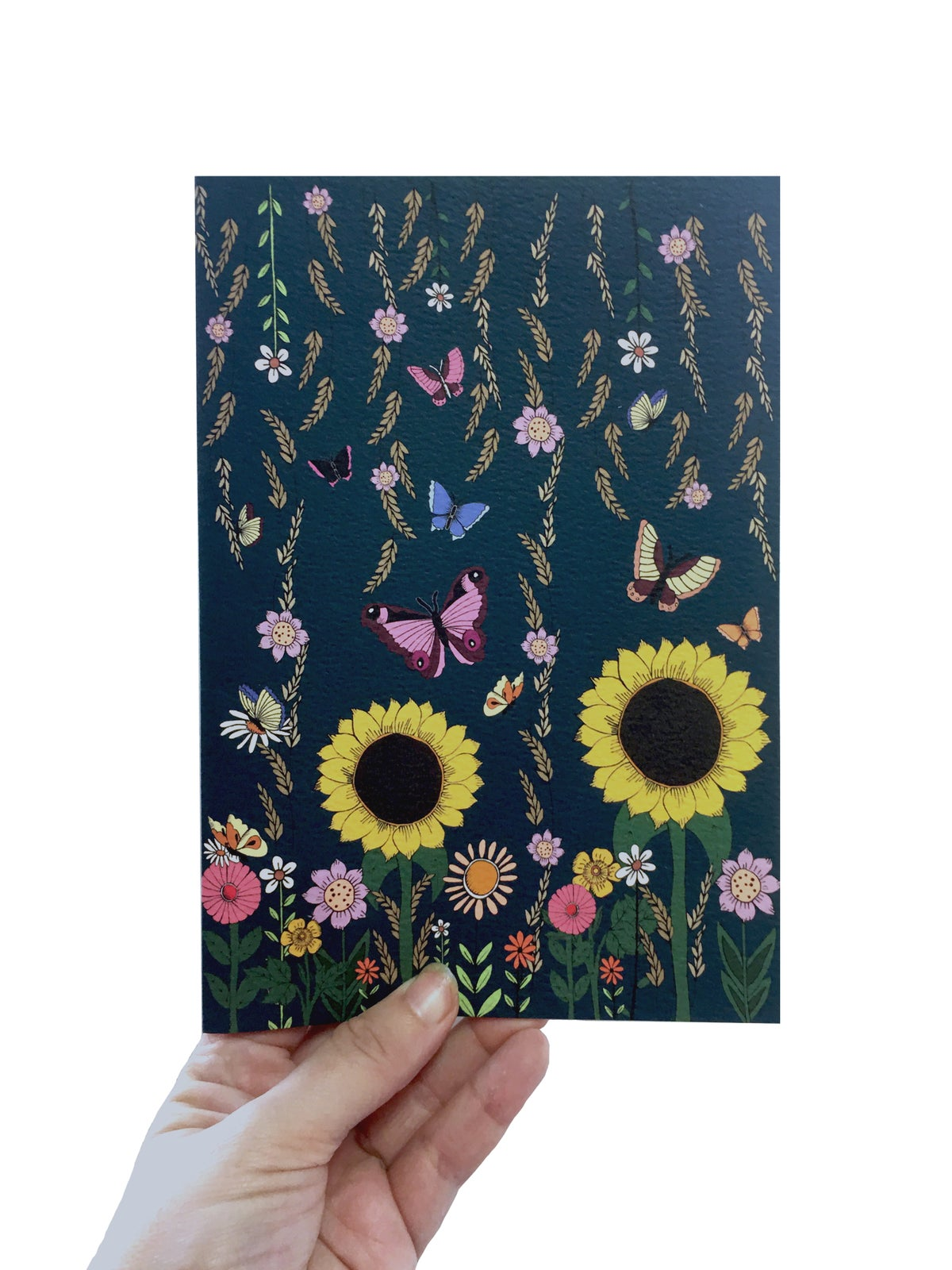 Sunflower Notebook  A5 Notebook