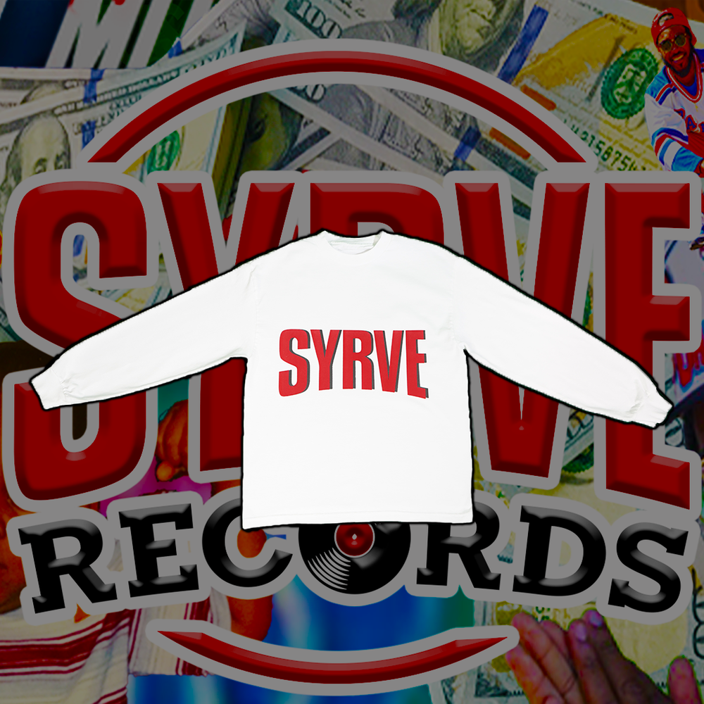 SYRVE IN YOUR WHITE LONG SLEEVE TEE