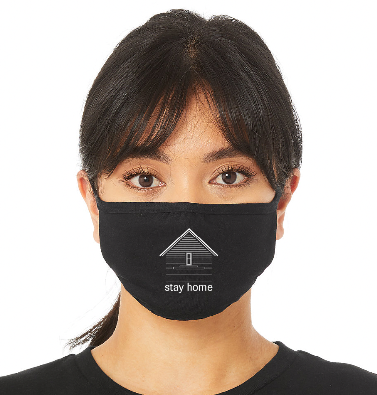 Image of Stay Home Face Mask