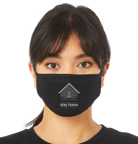 Image of Stay Home Face Mask [PRE-ORDER -- SHIPS 12/9]