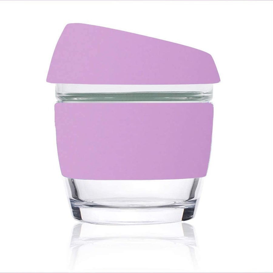 Image of 8oz Purple - Wave Glass