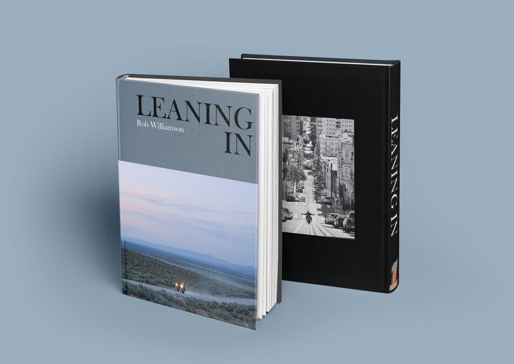 Image of PRESALE! LEANING IN, Hardcover Book by Rob Williamson