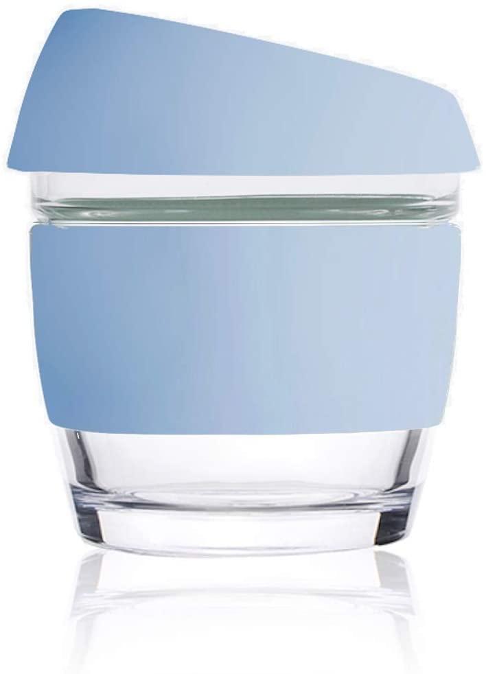 Image of 8oz Blue - Wave Glass