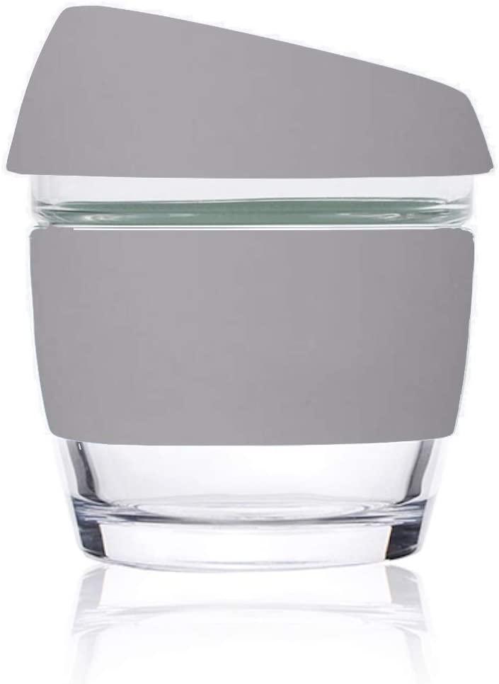 Image of 8oz Grey - Wave Glass
