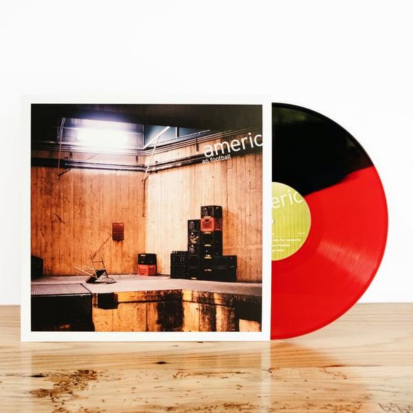 Image of American Football (EP) (Half Red/Half Black)