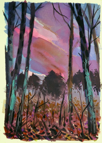 Image of Painting: Pink Ebb