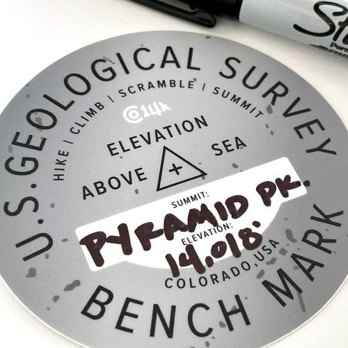 Image of Summit Marker Sticker
