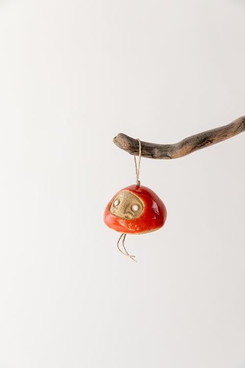 Image of Tiny Daruma Wishing Doll Ornament