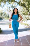 Blue Twist 2pc.  set