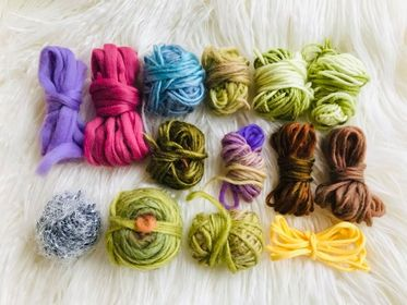 Image of Mixed Bag in Earthy Tones Fibre Pack