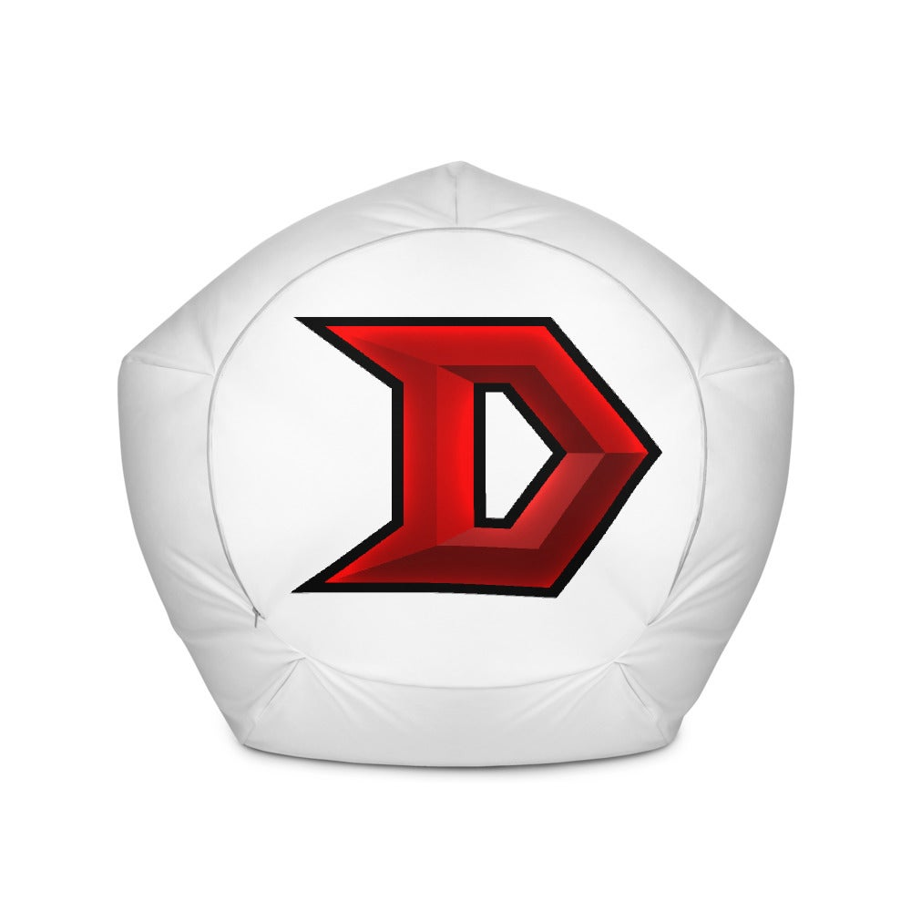 Image of Bean Bag Chair Cover - will Ship with THE RED D on 4 sides