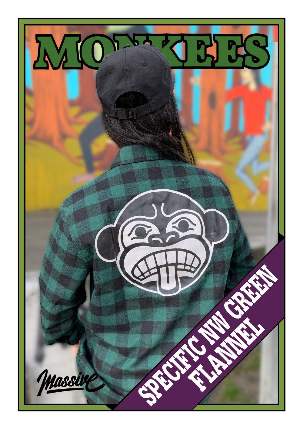 Specific Northwest Flannel - Green