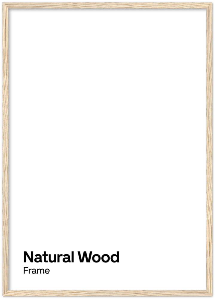 Image of Natural wood frame