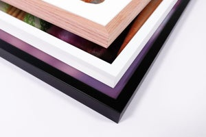 Image of Black wood frame