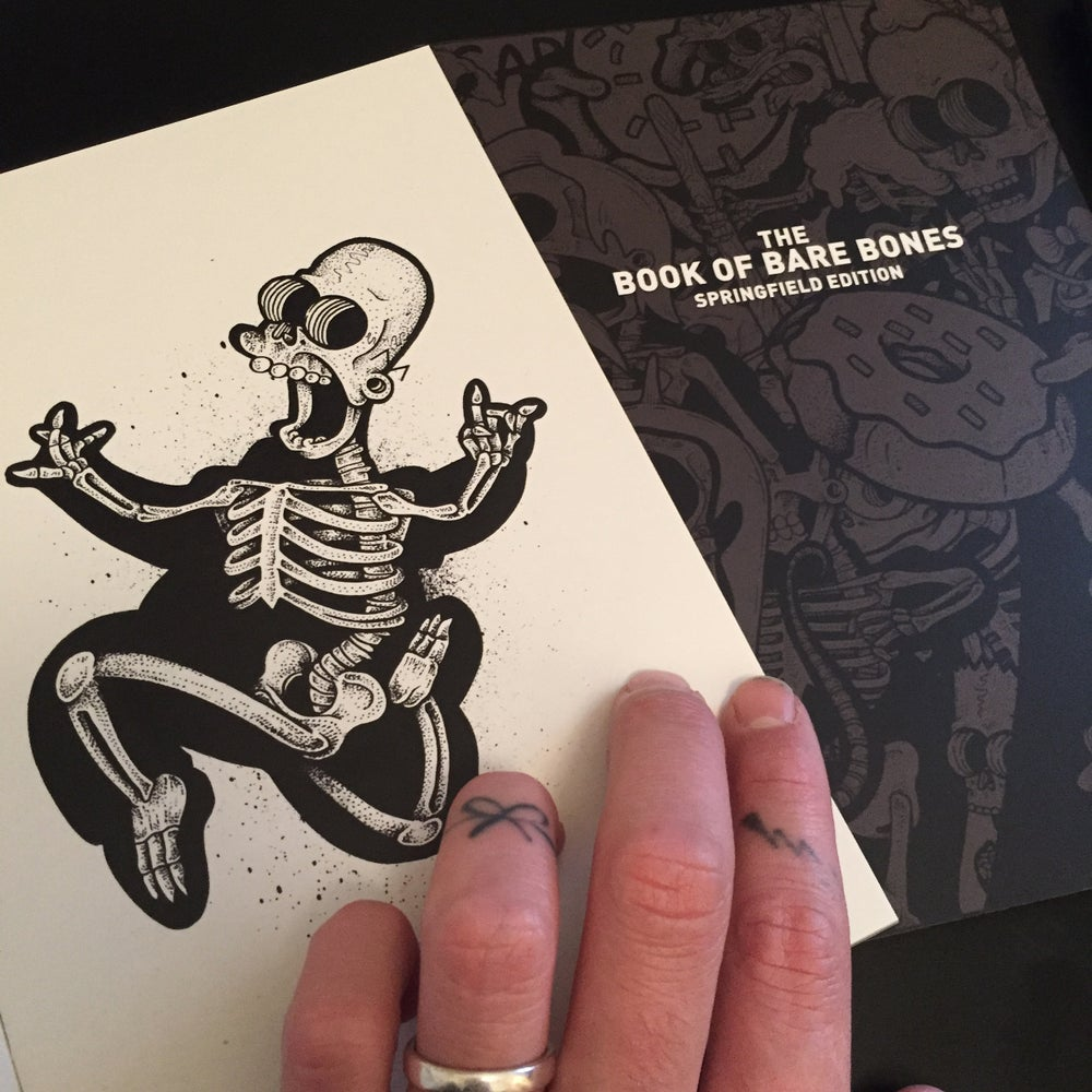 Image of THE BOOK OF BARE BONES SPRINGFIELD EDITION