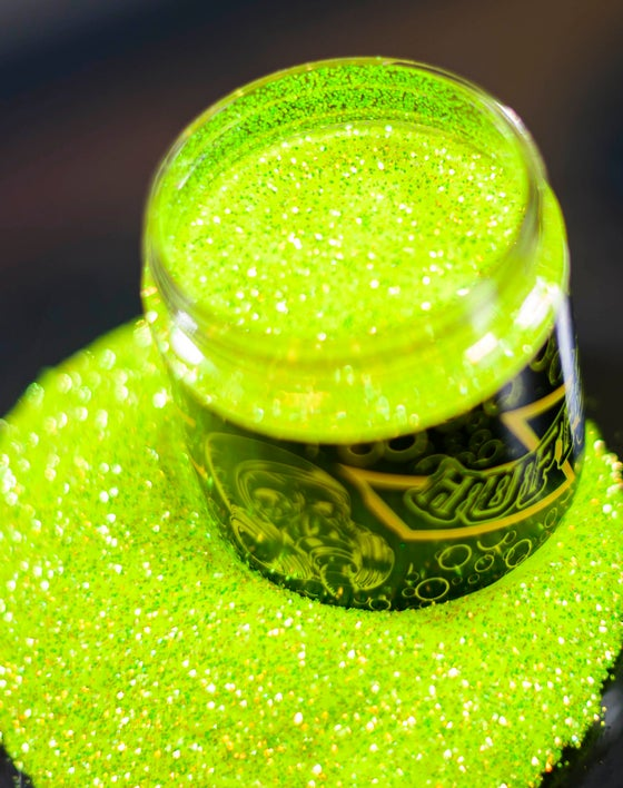 Image of NEON GREEN .015 COLOR SHIFTER METAL FLAKE