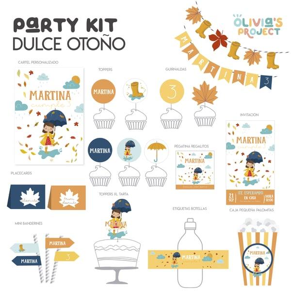 Image of Party Kit Dulce Otoño Impreso
