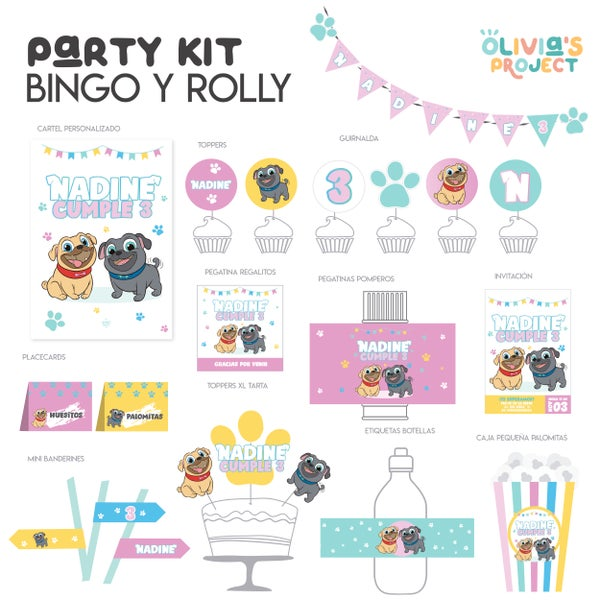 Image of Party Kit Bingo y Rolly