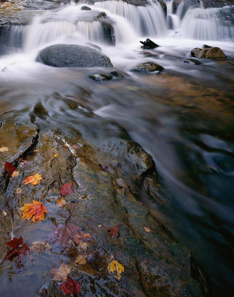Image of Sable Falls Detail, Pictured Rocks National Lakeshore, Michigan