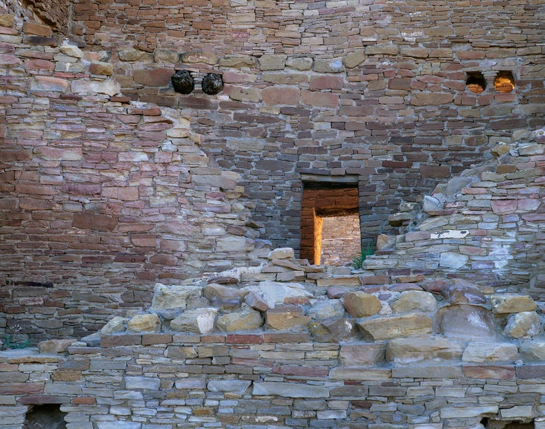 Image of Crumbled Walls, Chaco Culture National Park, New Mexico