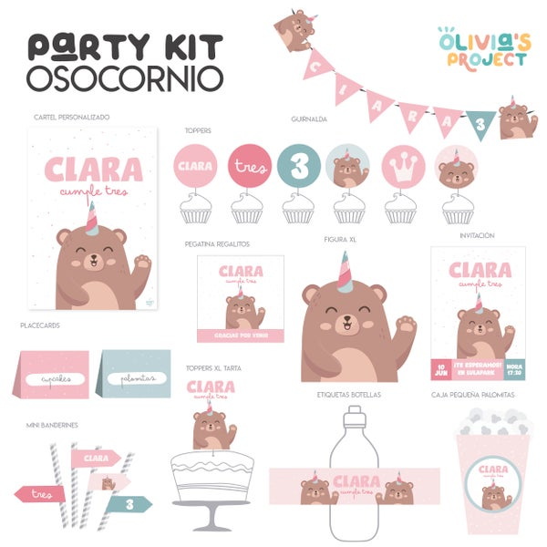 Image of Party Kit - Osocornio