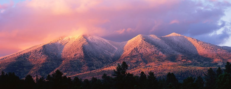 Image of Clearing Storm, San Francisco Peaks, Coconino National Forest, Arizona