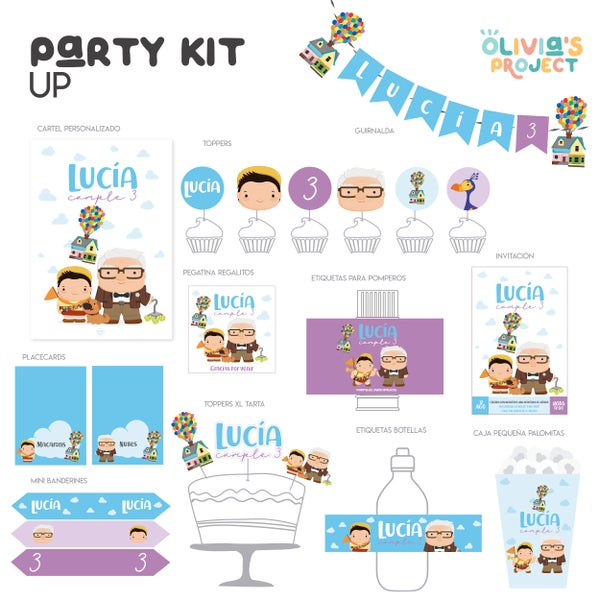 Image of Party Kit UP Impreso