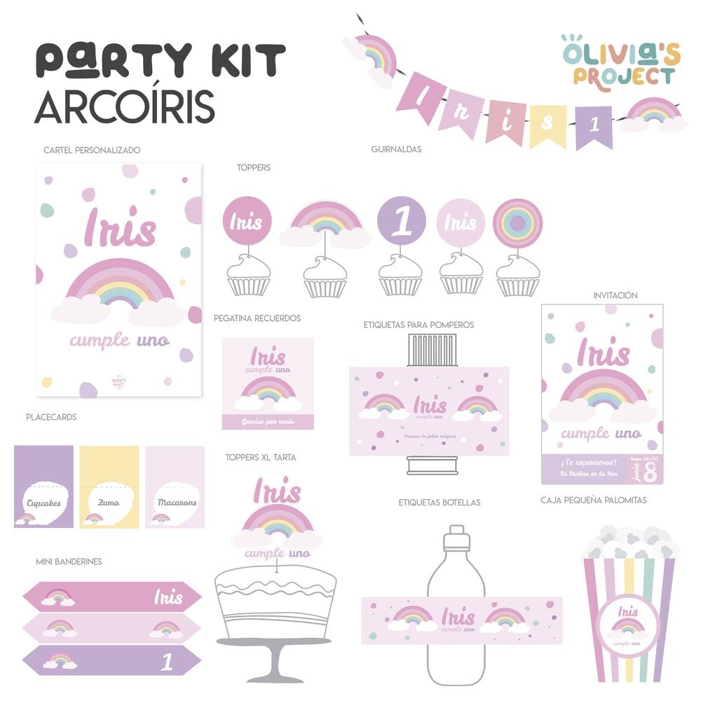 Image of Party Kit Arcoíris Impreso