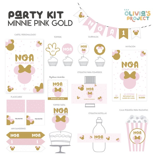 Image of Party Kit Minnie Impreso
