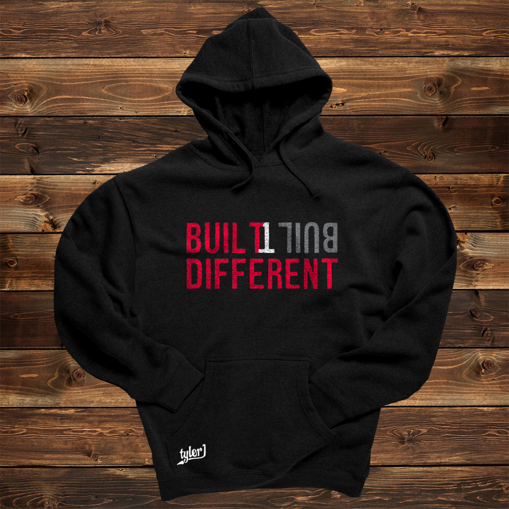 Built Different Hoodie