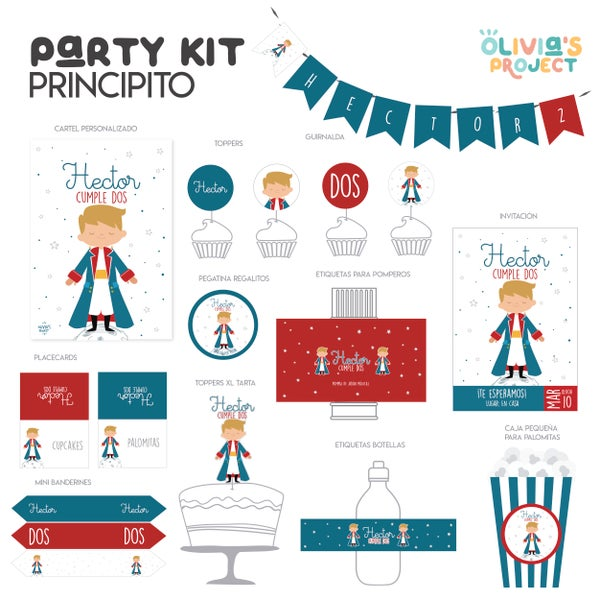 Image of Party Kit El Principito Impreso