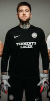 "Glasgow Saints ""Keeper"" Shirt - Black *Pre-Order*"