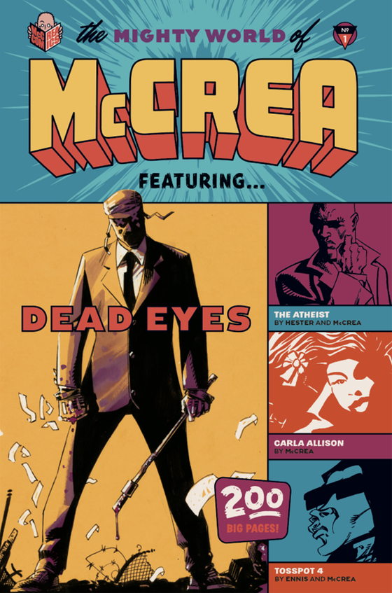 Image of THE MIGHTY WORLD OF MCCREA SOFTCOVER AND HARDCOVER