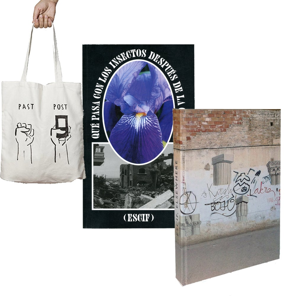 Image of ESCIF COMBO: ELSEWHERE + INSECTOS + tote bag