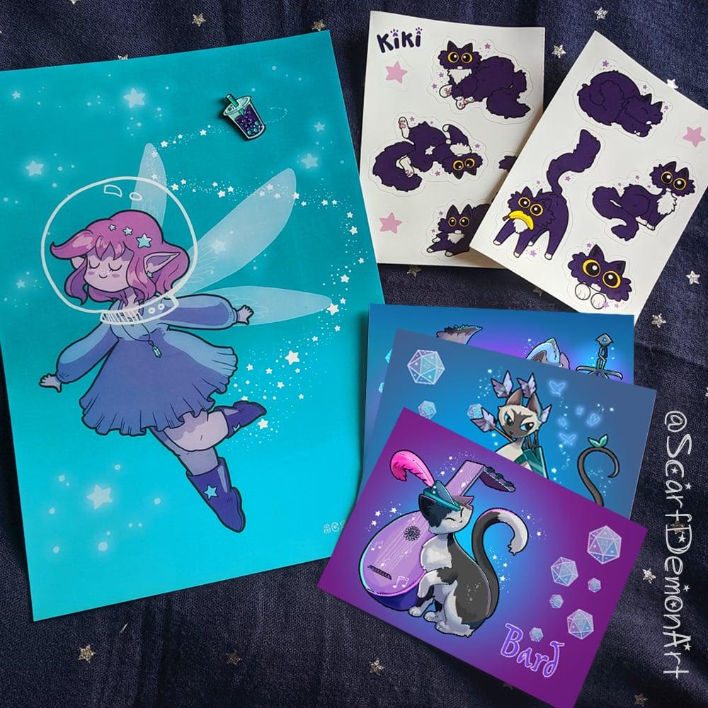Image of Space Fairy Bundle