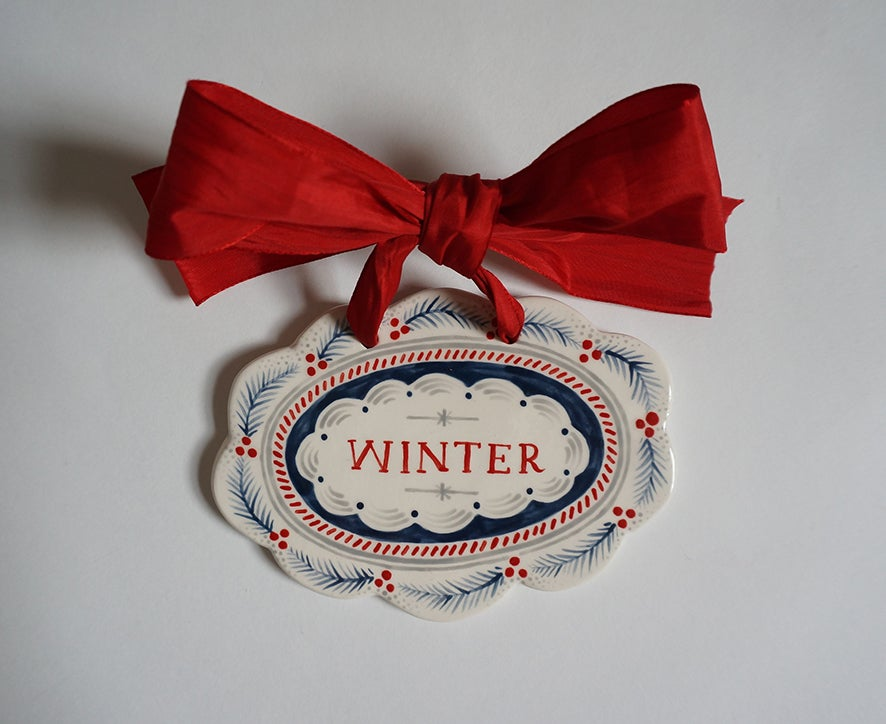 Image of WINTER - Plaque