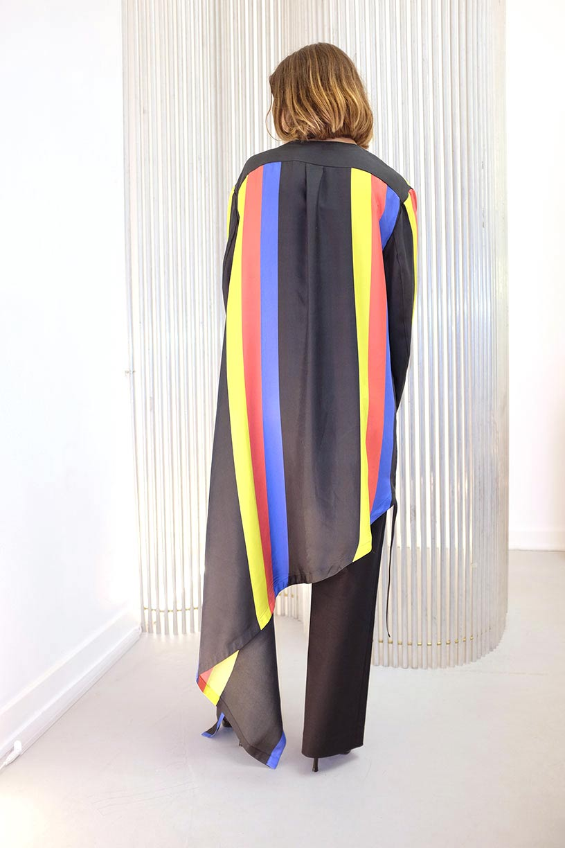 Image of Dress 3 - Silk - Primary Colors