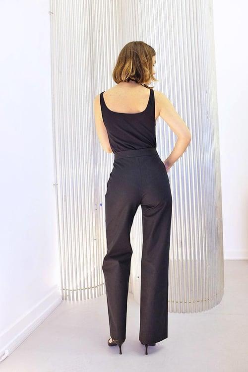 Image of Trouser 1 - Cotton - Black