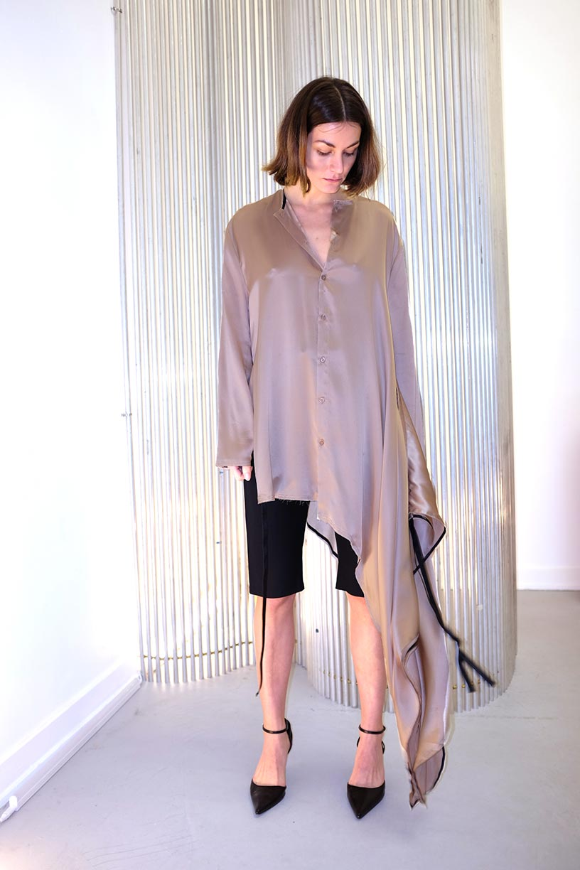Image of Dress 3 - Silk - Cream