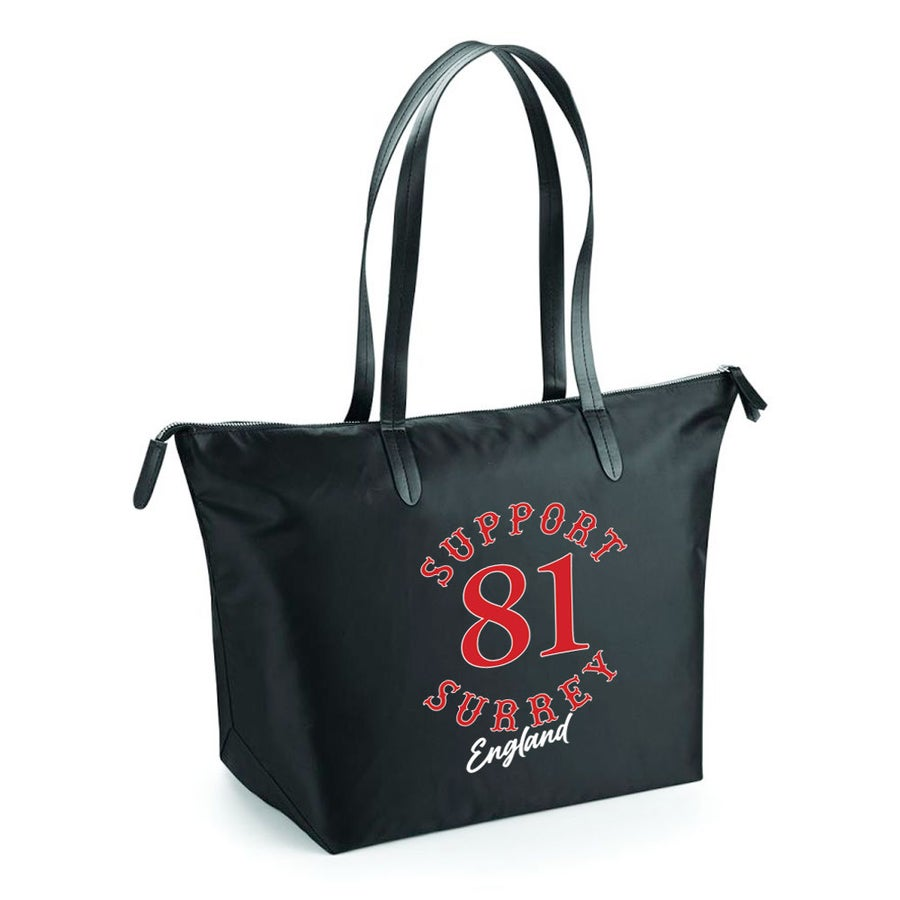 Image of BRM Support81 Nylon Zip Tote Bag