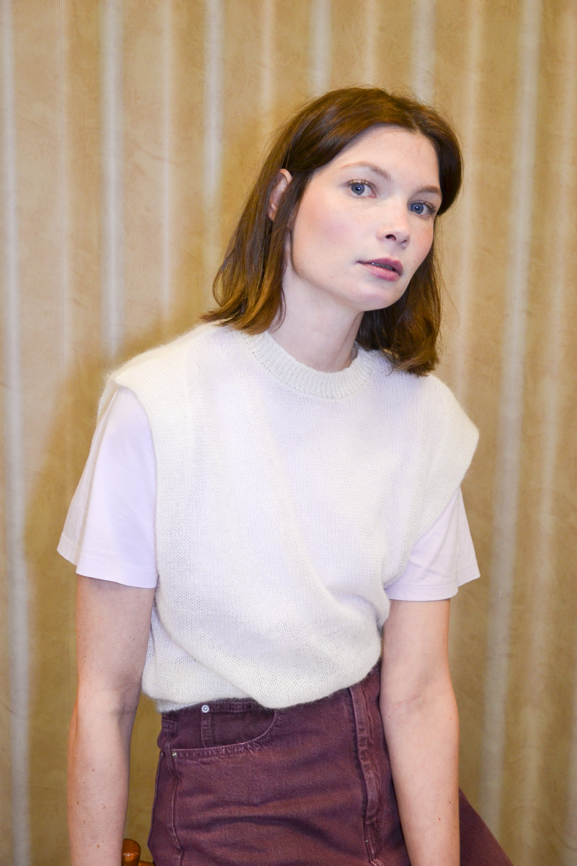 Image of LUCY pullover off white