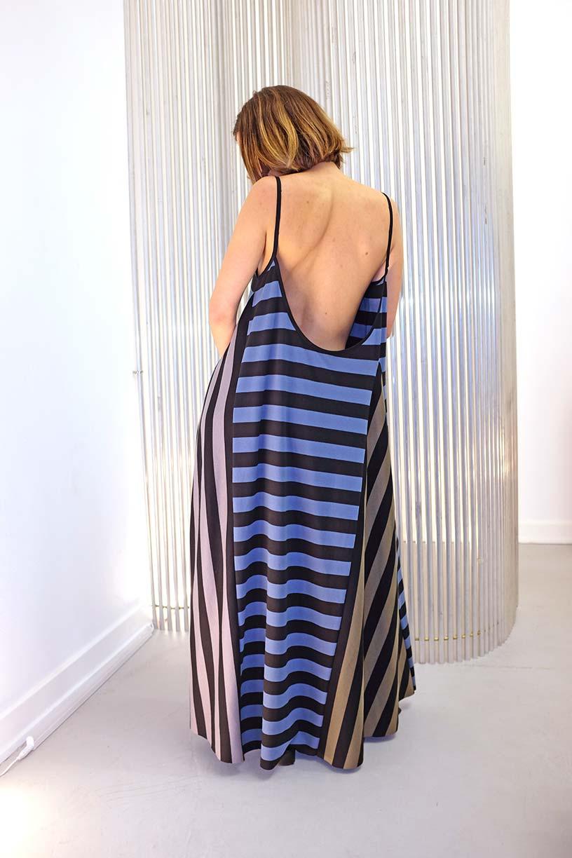 Image of MOD Strap Dress - Jersey - Stripes