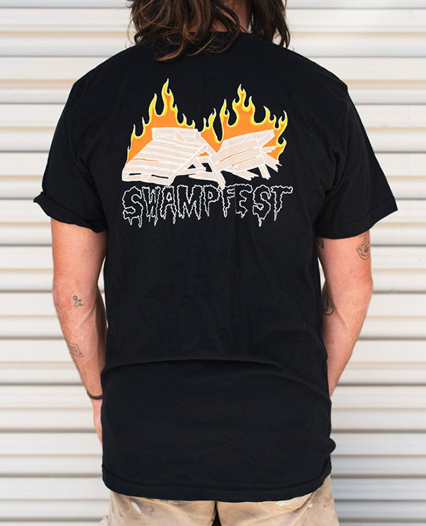 Image of Pallet Fire shirt black